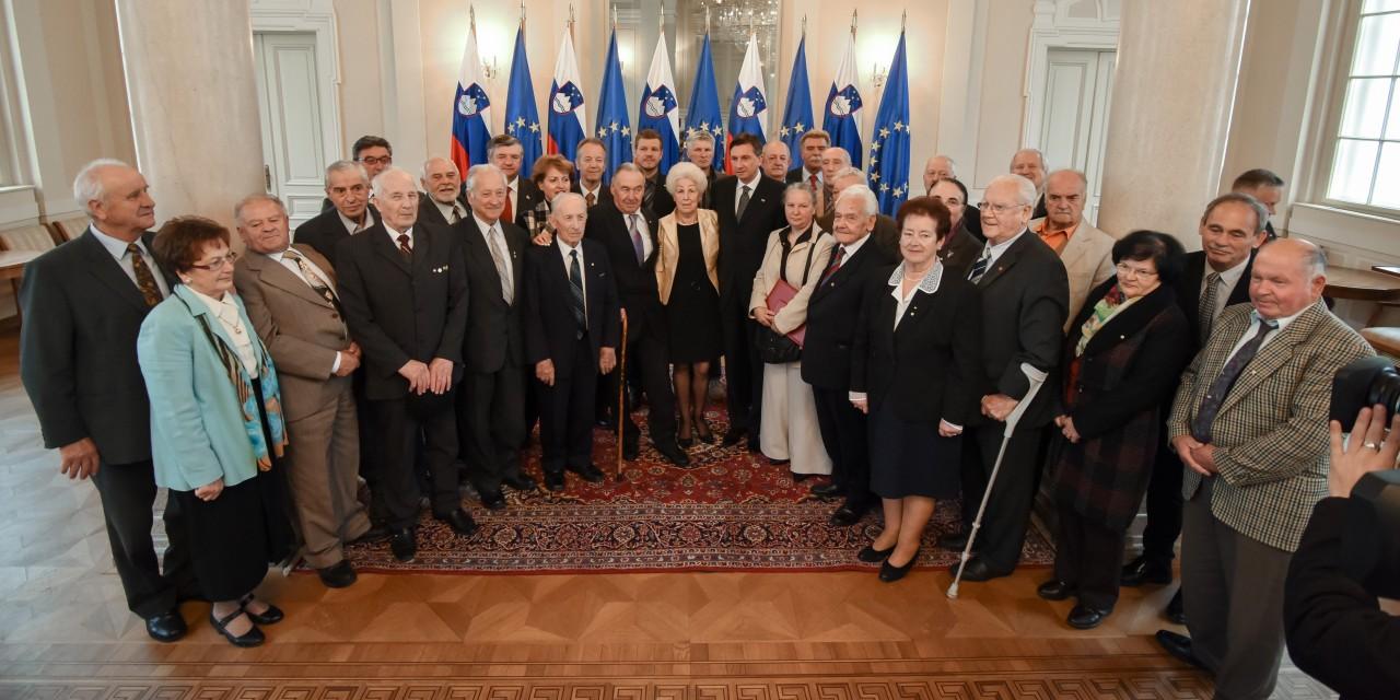 Z 8. seje predsedstva ZZB za vrednote NOB Slovenije
