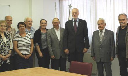 Predsednik DZ dr. Milan Brglez na obisku na sedežu ZZB NOB Slovenije