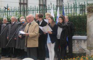 Božidar Gorjan Bogo, partizan, v Ljubljani, 13. oktobra 2016