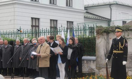 Govor Božidarja Gorjana – Boga ob spominskem obeležju 24. talcem v Ljubljani, 13. 10.