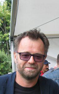 Dr. Tone Kregar, direktor Muzeja novejše zgodovine Celja, na Čreti, 1. 10. 2016