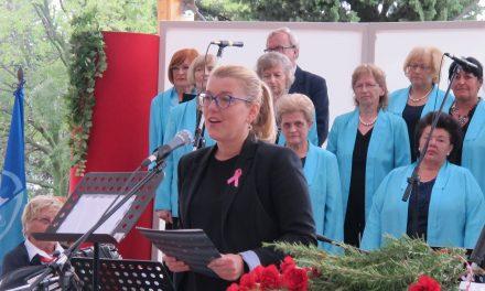Govor dr. Kaje Širok v Solkanu, 2. 10.