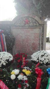 Spomenik v Ricmanjih, 6. novembra 2016