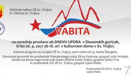 Vabljeni v Slovenske gorice