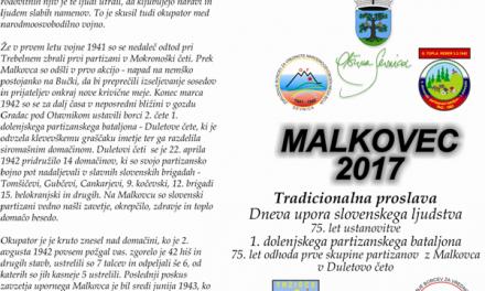 Vabljeni na Malkovec