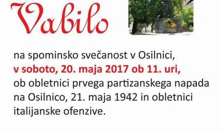Vabljeni v Osilnico