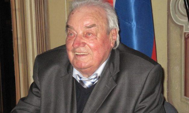 Peter Kuchar, častni predsednik Zveze koroških partizanov
