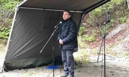 Govor Janka Vebra, Malkovec 23. april 2017