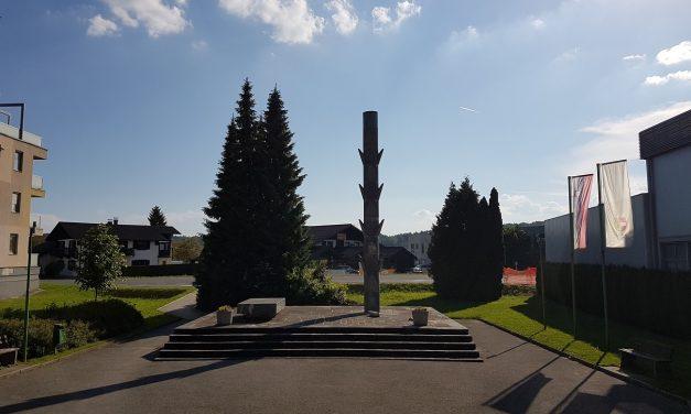 Poškodovali spomenik NOB v Vojniku pri Celju
