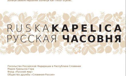 Slovesnost pri Ruski kapelici