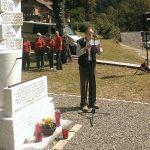 Ob 75. obletnici požiga vasi Kokra