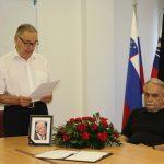 Žalna seja v spomin na dr. Antona Vratušo
