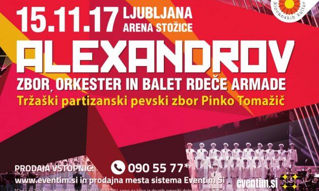 Koncert zbora Rdeče armade Alexandrov