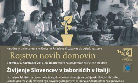 Življenje Slovencev v taboriščih v Italiji