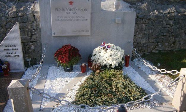 Obnovili spomenik v Divači