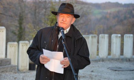 Govor Braneta Praznika, pred spomenikom NOB na Čatežu, 1. novembra 2017