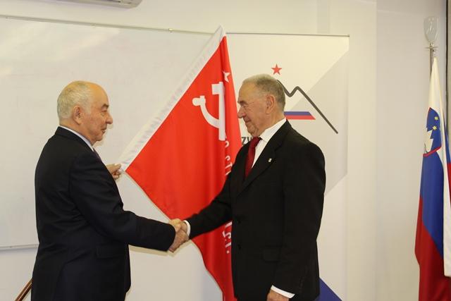 Darilo Ruske federacije ZZB NOB Slovenije