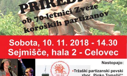 70 let Zveze koroških partizanov