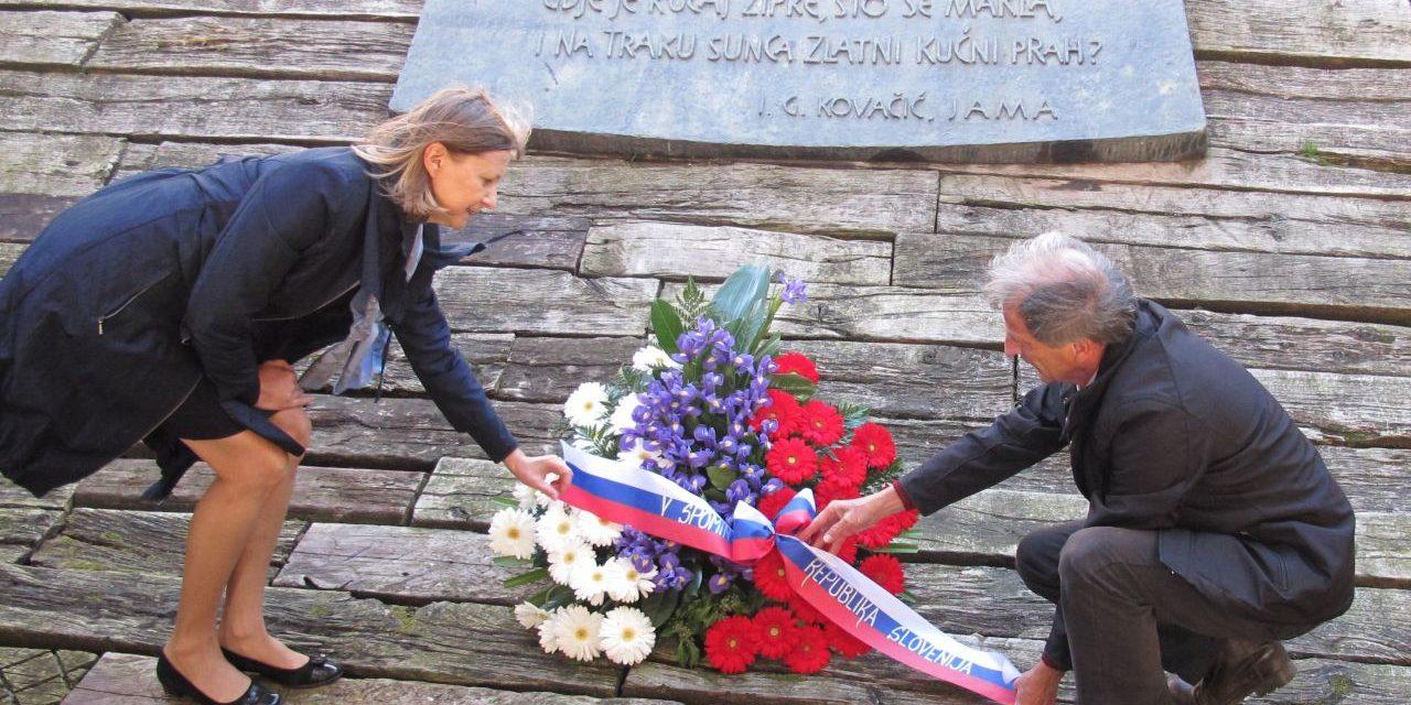 VENEC V SPOMIN NA SLOVENSKE ŽRTVE JASENOVCA