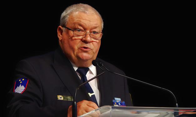 Dr. Tomaž Čas, predsednik Zveze policijskih veteranskih društev Sever