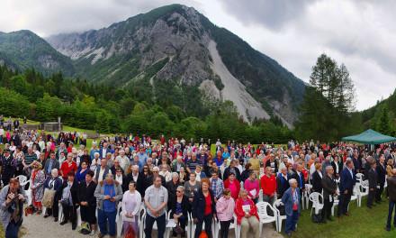Obletnica osvoboditve koncentracijskega taborišča Ljubelj