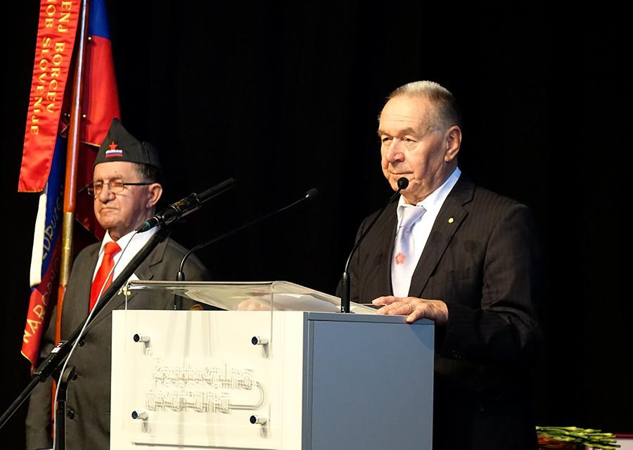 Tit Turnšek, predsednik ZZB za vrednote NOB Slovenije