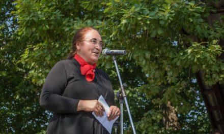 Govor dr. Ljubice Jelušič pri Sv. Antonu