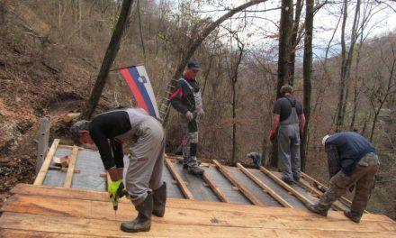 Obnovili so partizansko tehniko France Prešeren na Bohorju