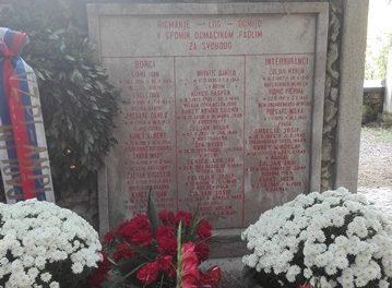 70-letnica partizanskega spomenika v Ricmanjih pri Trstu