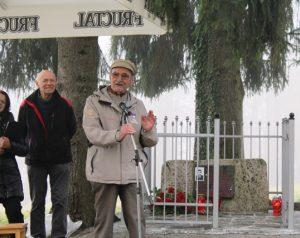 O Jožetu Kovačiču je spregovoril tudi njegov soborec Franc Sever Franta