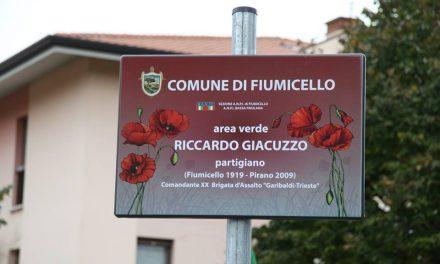V Fiumicellu poimenovali park po partizanu Riccardu Giacuzzu