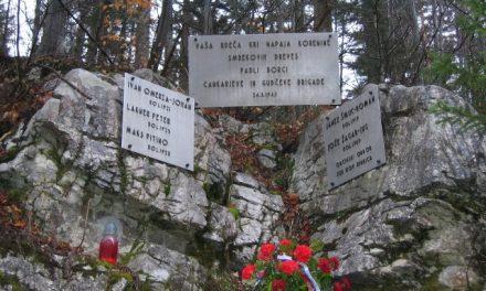 Spomini na boj v Jelenovem žlebu