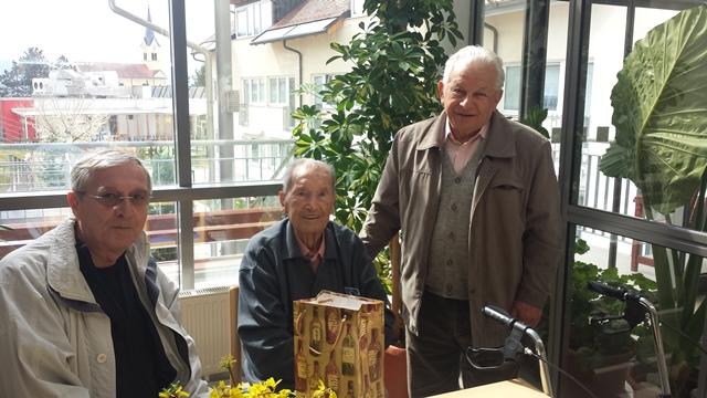 Obisk pri 105-letnemu Francu Peniču