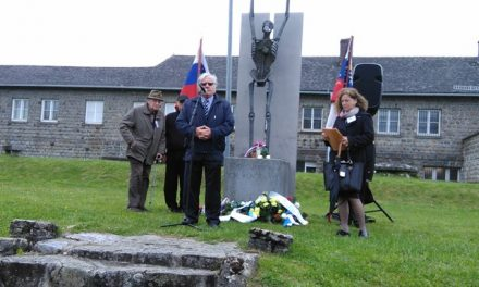Govor Toneta Partljiča, taborišče Mauthausen 7. maja 2017