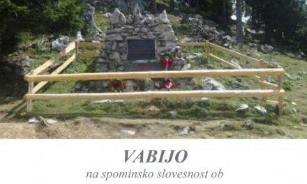 Vabljeni na 72. obletnico bojev na Menini planini