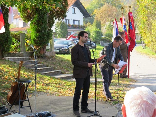Govor Jakoba Gašpirja, Oštrc, 21. oktober 2017