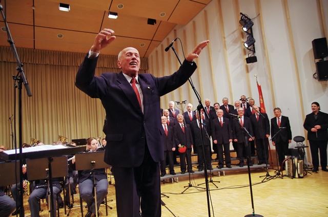 Poslovilni koncert dirigenta Franca Gornika