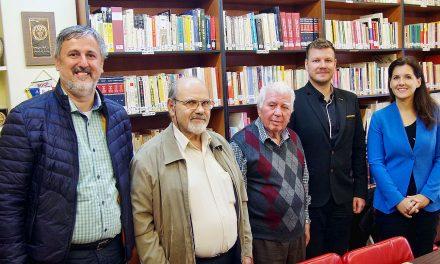 Srečanje z vodstvom grške veteranske partizanske organizacije
