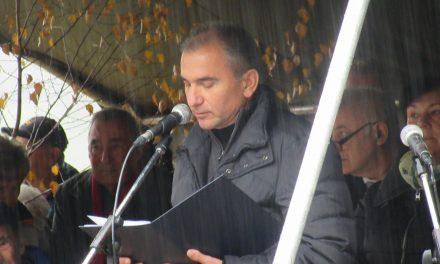Govor Janka Vebra, Lokve pri Črnomlju, 7. november 2017