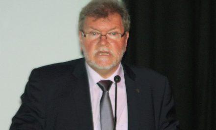 Dr. Damijan Guštin – Na svečani seji predsedstva ZZB NOB Slovenije, 25. aprila 2019