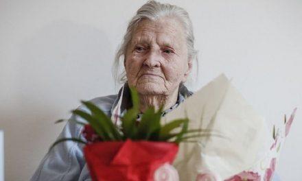 HEROJINJA ANDREANA DRUŽINA OLGA DOPOLNILA 100 LET