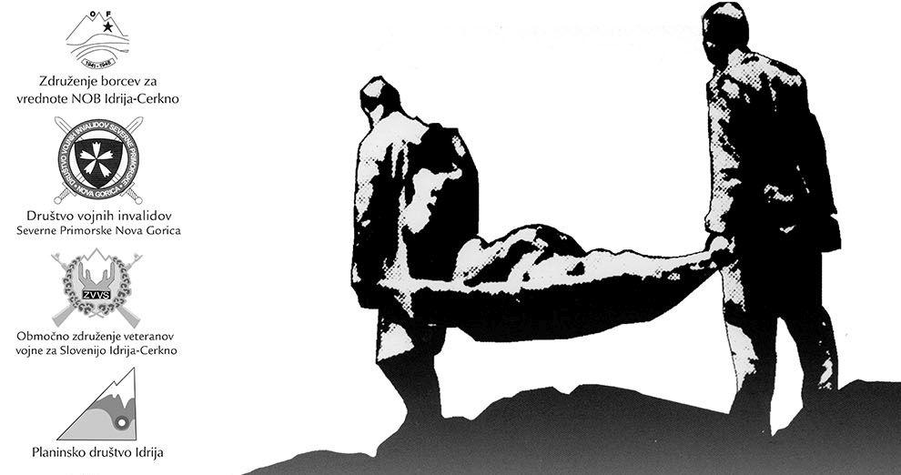 Pohod prenosa ranjencev – Hudo polje, Vojščica, Vojsko – 29. avgusta 2020