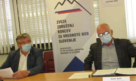 Skupna izjava ZZB NOB Slovenije in Zveze koroških partizanov – 5. oktober 2020, Ljubljana