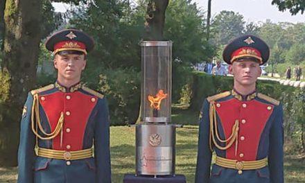 Oskrunili spomenik Sinovom Rusije in Sovjetske zveze na Žalah