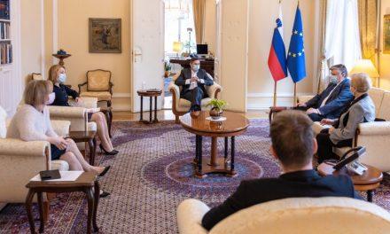 Predsednik republike sprejel vodstvo ZZB NOB Slovenije